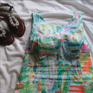 Lilly Pulitzer dress with tie back